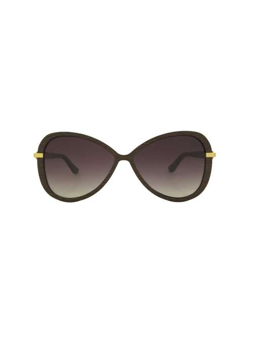 112b8d484c LaBante Wenge Wood Chloe Butterfly Sunglasses - House of Fraser