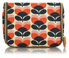Orla Kiely Flower Stripe Print Hanging Wash Bag