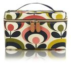 Seventies Flower Large Cosmetic Bag