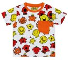 Fabric Flavours Kids Mr Men Repeat Print Red