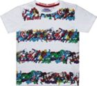 Fabric Flavours Kids Marvel Hero Striped T-Shirt