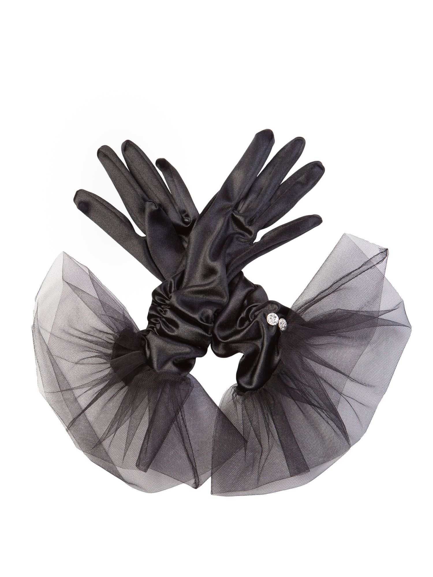 Vintage Style Gloves Cornelia James Tatiana Satin Gloves £90.00 AT vintagedancer.com