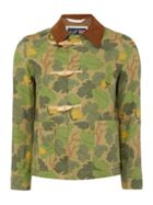 Men's Gloverall Camoflauge Duffle Coat