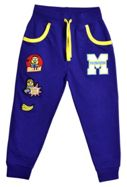 Fabric Flavours Kids Minions Varsity Badge Sweatpants