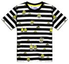 Fabric Flavours Kids Minions Jail stripe T-shirt