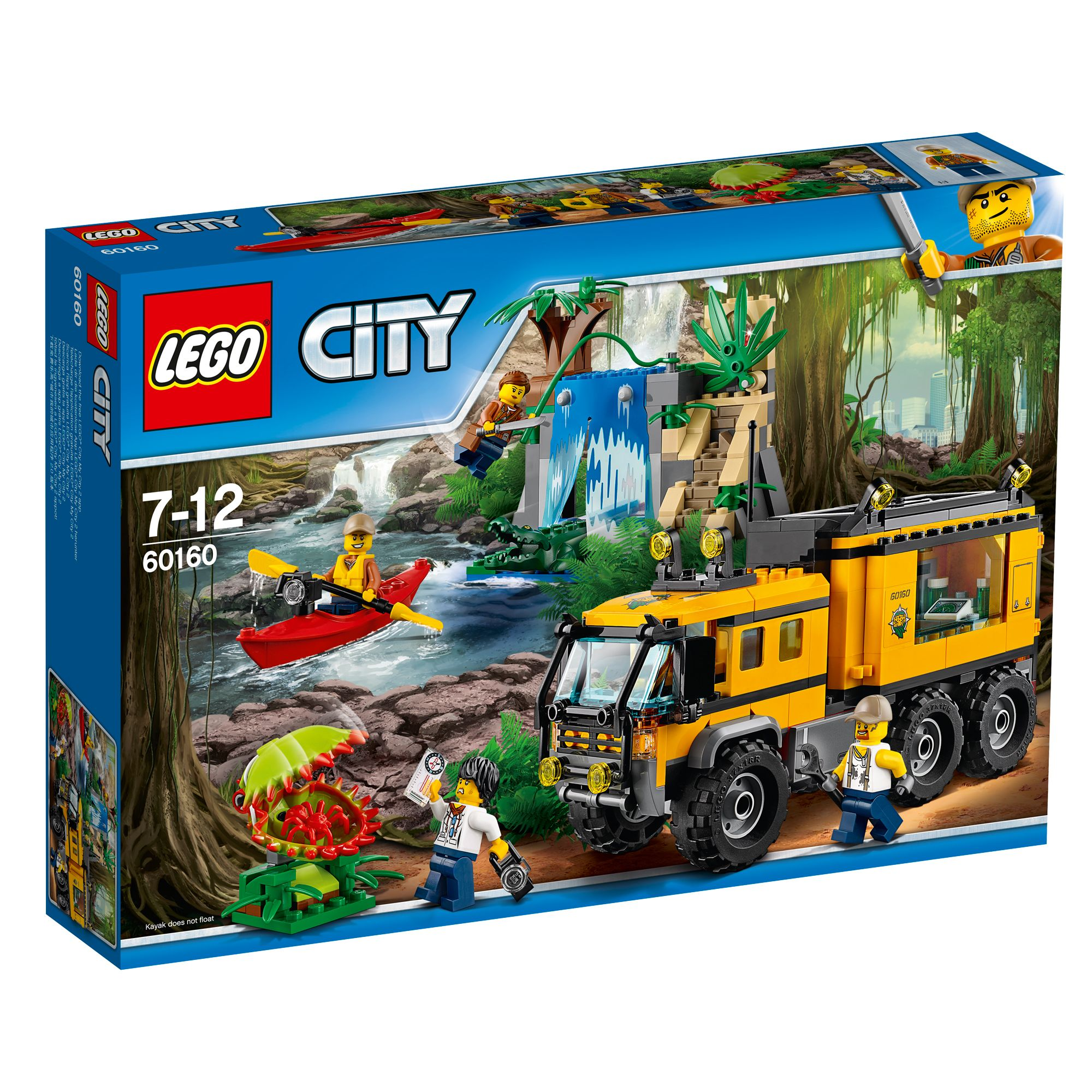 Buy Lego Minecraft The Jungle Tree House 21125 Entertainer Shop 21132 Temple City Mobile Lab 60160