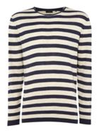 Men's Minimum Crew Neck Striped Jumper