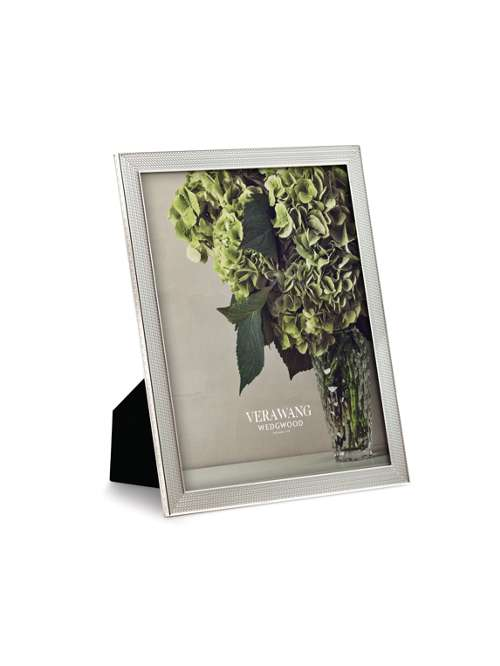 Wedgwood Vera Wang With Love Nouveau Photo Frame 8x10 - House of Fraser