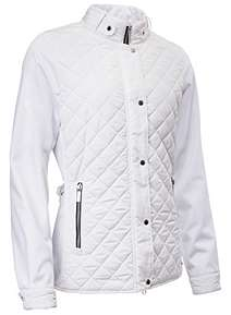 Abacus at House of Fraser : white quilted coat - Adamdwight.com