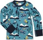 Polarn O. Pyret Baby Forest Bear Print Top