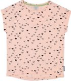 Girls Leaf Print T-shirt