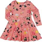 Girls Rabbit Print Dress