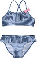 Polarn O. Pyret Girls Striped Bikini