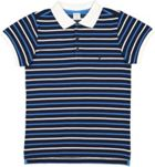 Polarn O. Pyret Boys Striped Polo Shirt