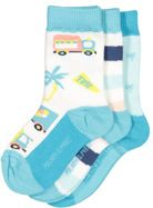 Polarn O. Pyret Babies 3 Pack Patterned Socks