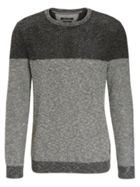 Knitted Sweater In A Cotton Blend
