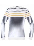 Men's Antony Morato Crew-Neck Sweater With Stripes