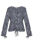 Stefanel Striped Jersey Shirt