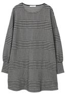 Mango Houndstooth Dress