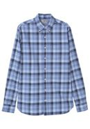 Men's Mango Slim-fit check shirt