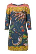 Desigual Dress Crudo Rep