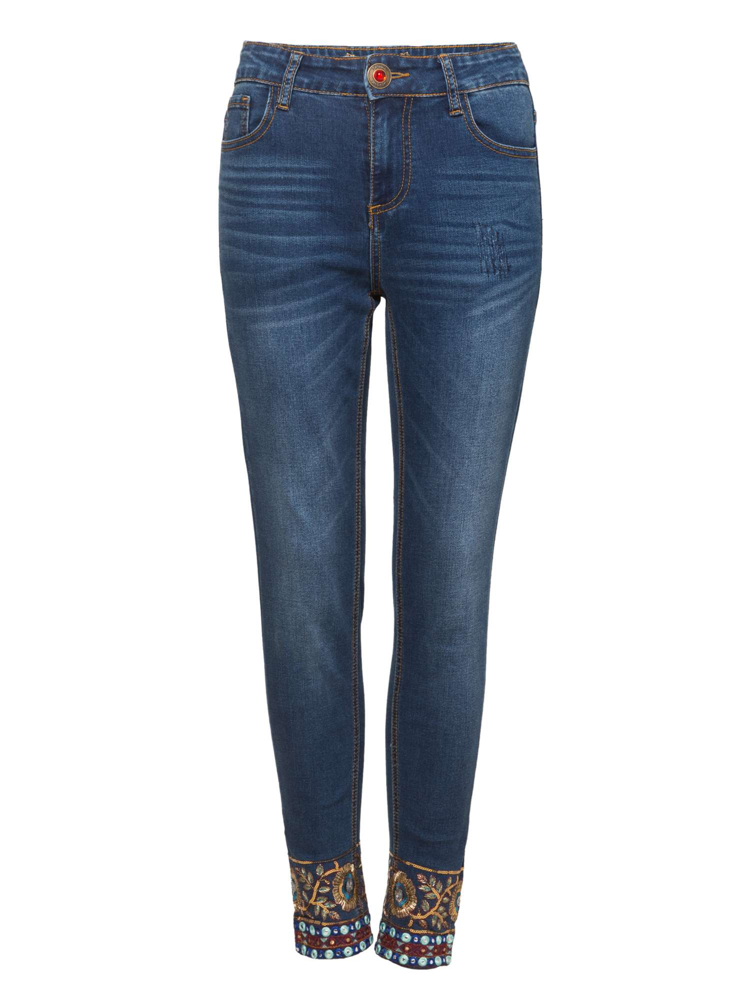 Desigual Exotic Denim Ankle Exotic Denim wB5PzqPt