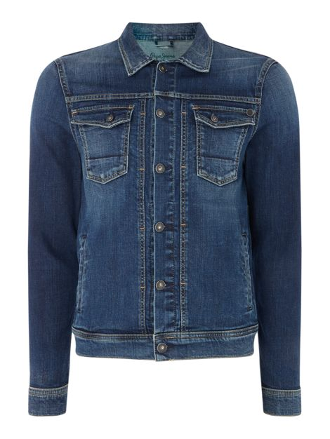Rooster Pepe Mens Light Weight Jacket by Pepe Jeans