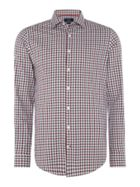 Men's Rushmore Rushmore Star Slim Checked Shirt