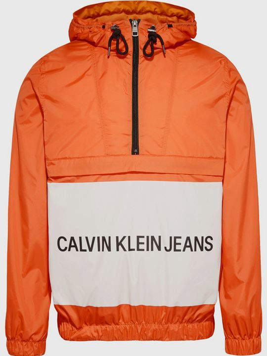 Calvin Klein Jeans Logo Pull Over Jacket