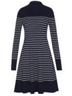Tommy Hilfiger Gaila Stripe Rib Dress