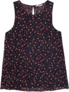 Tommy Hilfiger Backpleat Printed Tank