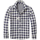 Tommy Hilfiger Boys Reversible Gingham Check Shirt