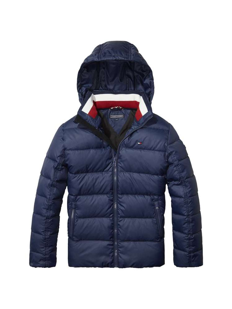 cb6015052 Tommy Hilfiger Boys Basic Down Jacket - House of Fraser