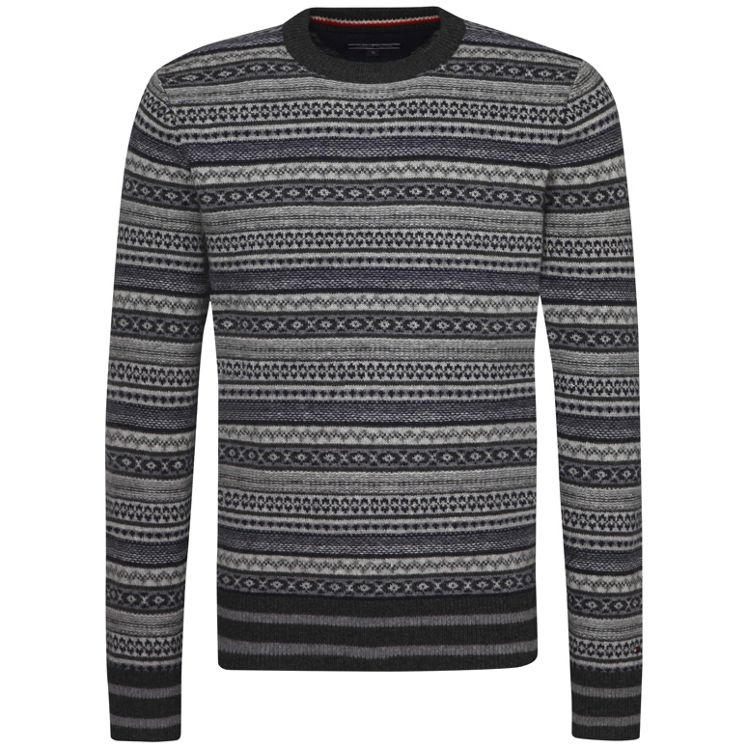 Tommy Hilfiger Ramone Fairisle Jumper - House of Fraser