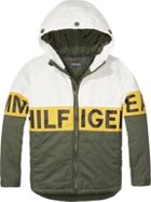 Tommy Hilfiger Boys Block Logo Coat