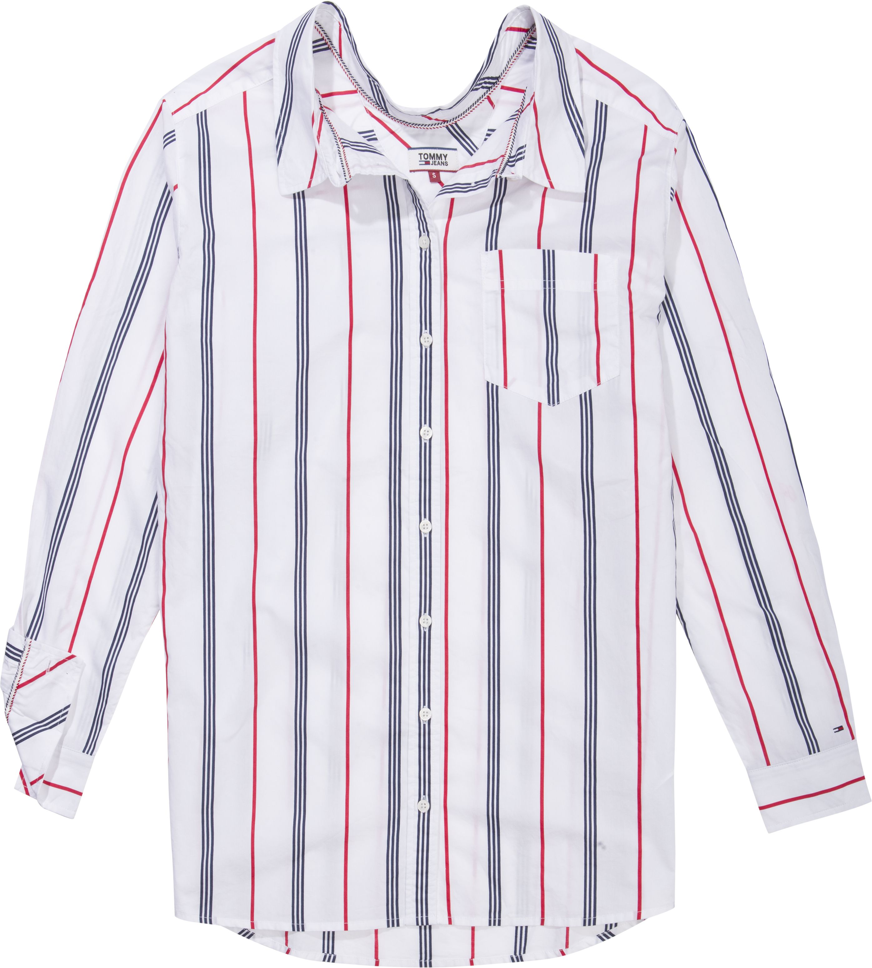 Tommy Jeans Stripe Detail Shirt by Tommy Hilfiger