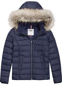 Tommy Hilfiger Tommy Jeans Hooded Coat ... 41d61ecc6f