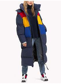 ... Tommy Hilfiger Tommy Jeans Long Oversized Puffa Jacket 32aefd24d