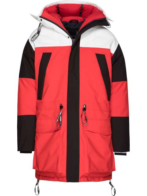 Tommy Hilfiger Colour Block Parka - House of Fraser 1d875a71606b