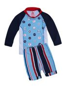 Boys Upf50+ Maritime Baby Sunset Ls