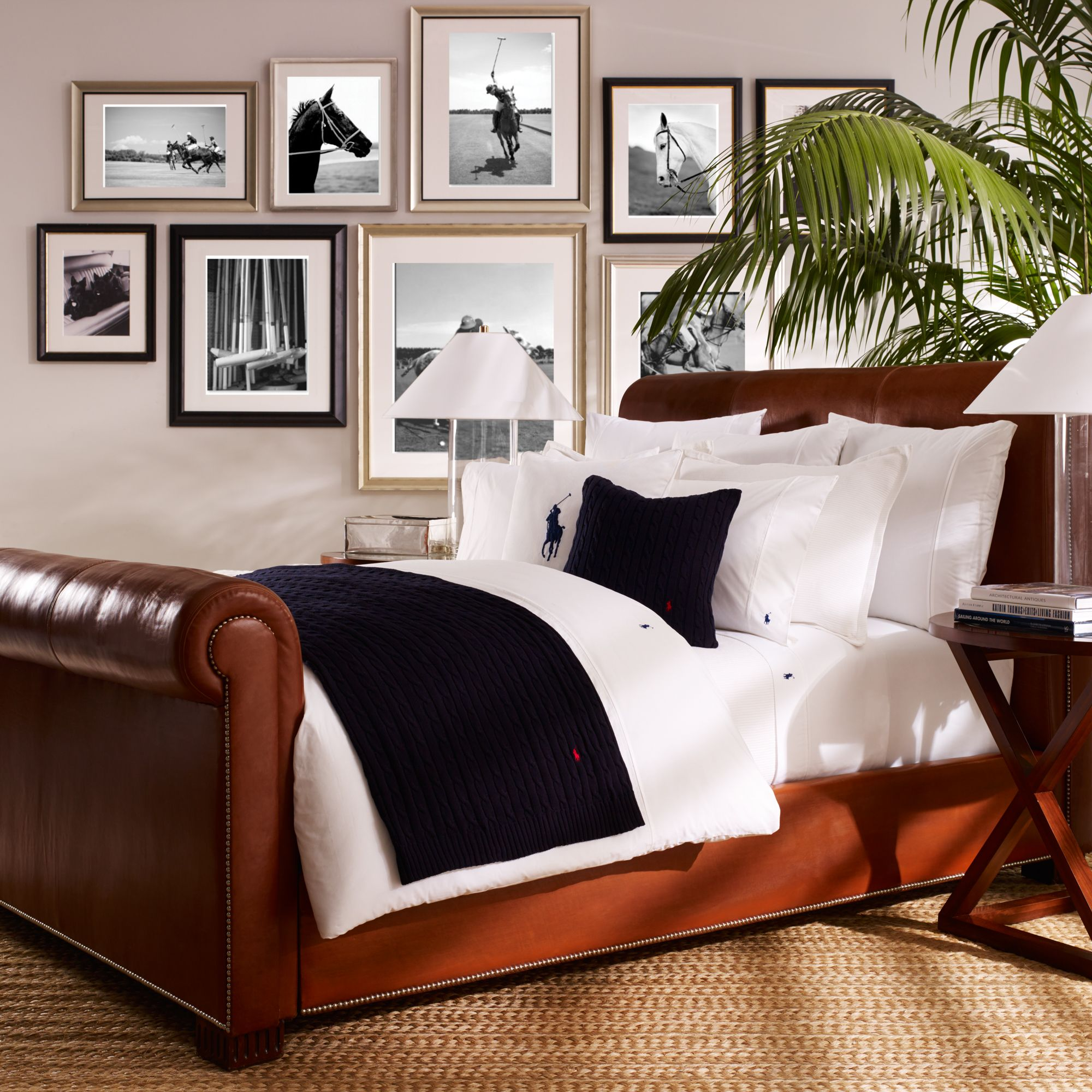 Ralph Lauren Home Player Bed Linen Range ...